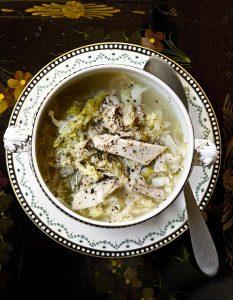Zuppa di fagiano
