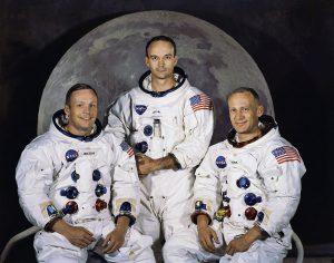 L'equipaggio della missione Apollo 11