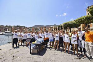 I partecipanti dell'ultima edizione di Fondali puliti.