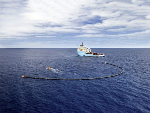 The OceanCleanup-System
