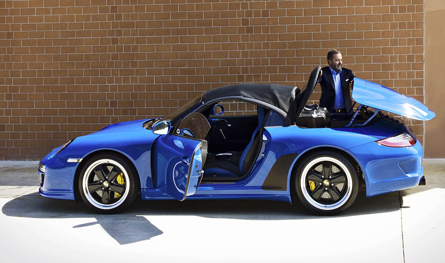 Porsche 911 (997) Speedster del 2010